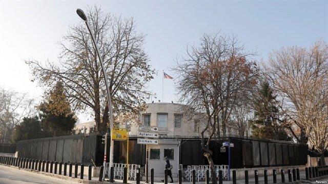 بلدية أنقرة تعلق لوحة