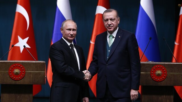Erdoğan, Putin agree to continue pursuing cooperation, coordination against terrorism