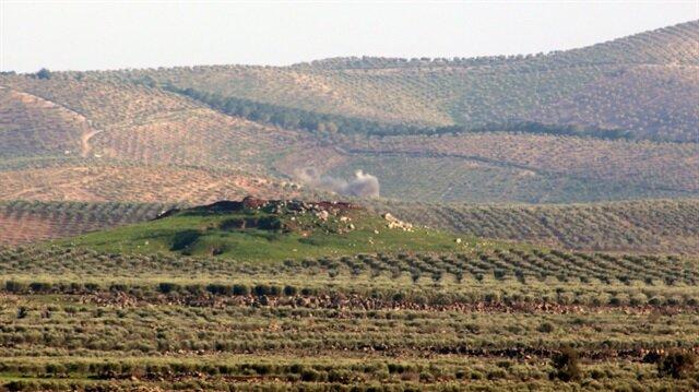 Raco Dağı'ndaki PKK/PYD hedefleri ateş altında