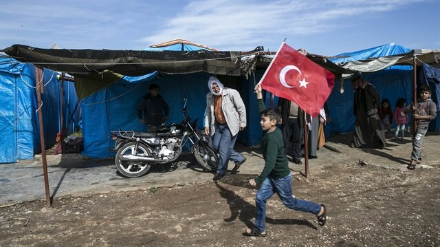 Families from Jinderes sheltered in Turkey's Hatay