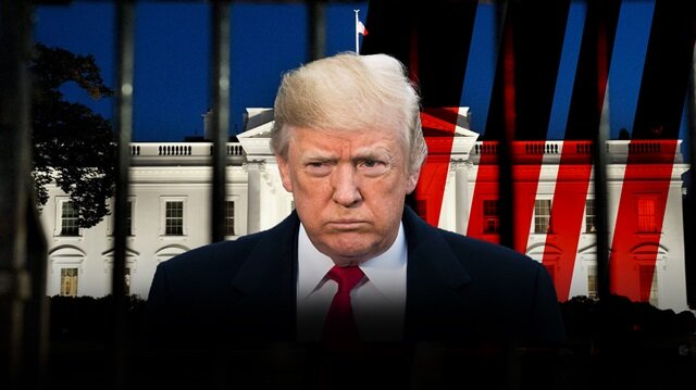 ABD'de Beyaz Saray'a vurulan kilit