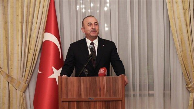 جاويش أوغلو: نحن لسنا ضد الأكراد بل ضد التنظيمات الإرهابية