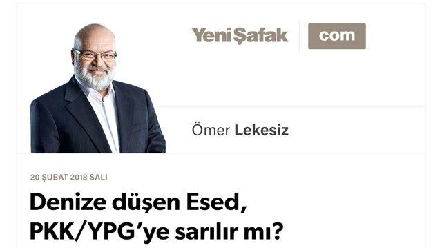 Denize düşen Esed, PKK/YPG'ye sarılır mı?