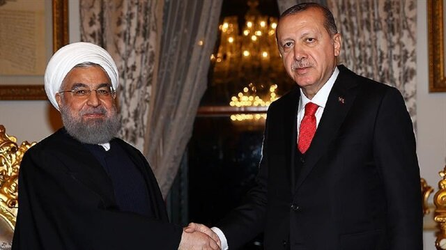 Turkish, Iranian presidents discuss Syria on phone