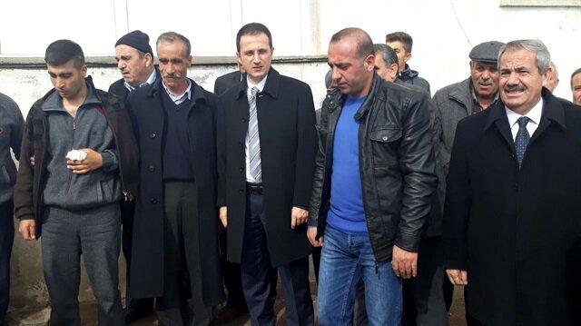 Memleketinde Afrin gazisi için kurban kesildi