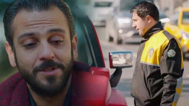 Çukur'da tepki çeken Emrah Amir ve trafik polisi sahnesi