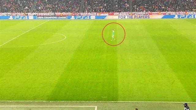 Bayern kalecisi Ulreich'in dikkati çeken fotoğrafı