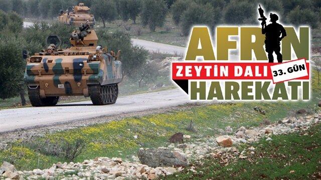 1 ay geride kaldı:Afrin'de hareketlilik!