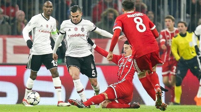 Bayern Munich hit five to take charge against Besiktas
