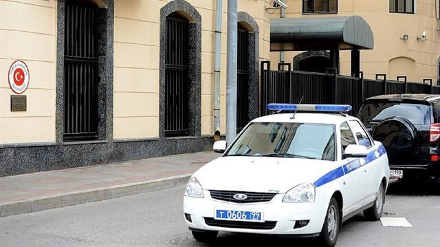 Turkish Embassy in Moscow receives white powder envelope