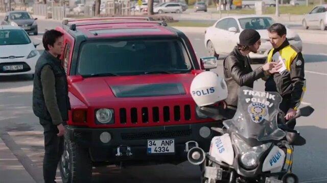 Çukur dizisinde tepki çeken trafik polisi sahnesi