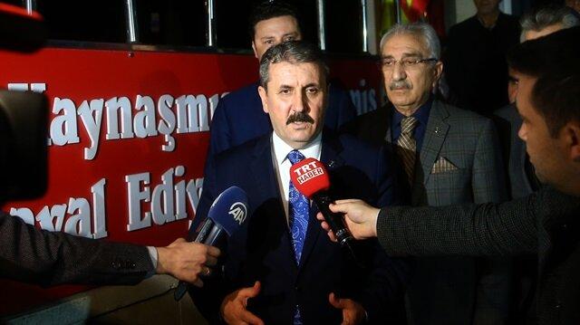 BBP de Cumhur İttifakı'na katılma kararı aldı