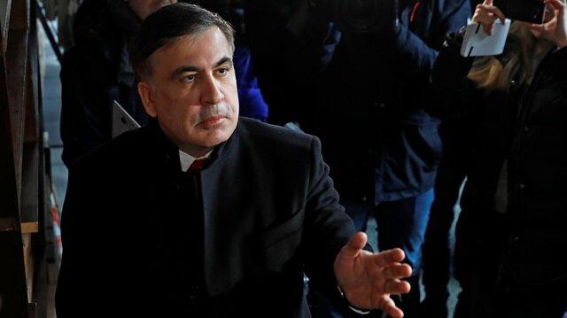 Ex-Georgian leader banned entry to Ukraine till 2021