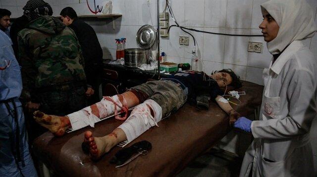 Esed Doğu Guta'ya ölüm yağdırıyor: 300'den fazla sivil hayatını kaybetti