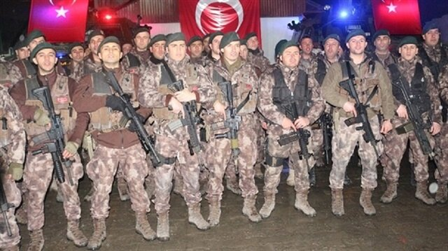 Turkey's Gendarmerie, Police Special Forces under military's command for Afrin op