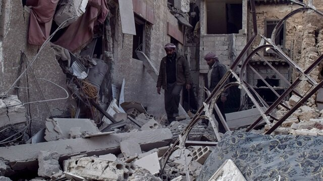 Esed rejiminin Doğu Guta'daki saldırılarında 15 sivil yaşamını yitirdi