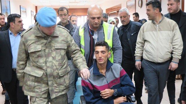 Afrin gazisi Tankçı Uzman Çavuş Serhat Solmaz