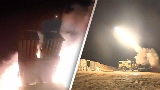 Afrin'de terörist konvoyu böyle vuruldu!