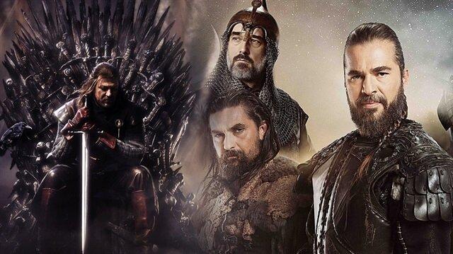 Game of Thrones'un yerine Diriliş Ertuğrul'u önerdiler