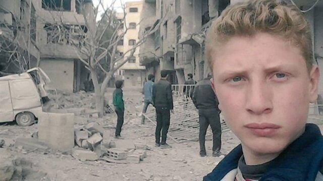 مراسل حربي في الـ15 من عمره.. تعرف على الطفل السوري صوت المحاصرين