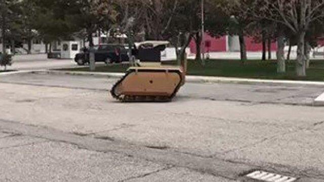 SSM insansız kara aracının ilk görüntülerini paylaştı