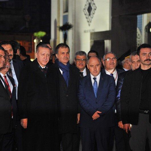 Erdoğan'dan Osmaniye Belediyesi'ne ziyaret
