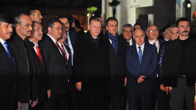 Cumhurbaşkanı Erdoğan'dan Osmaniye Belediyesine ziyaret
