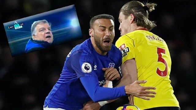 Cenk Tosun Watford maçının son saniyesinde yıkıldı