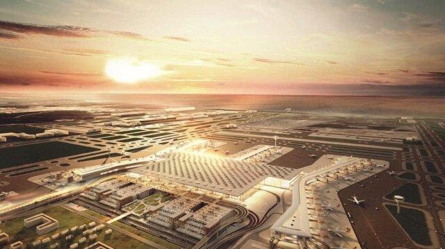 3. havalimanı Erdoğan'ı bekliyor
