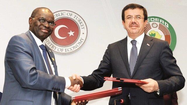 Ekonomi ve İş Forumu, Ticaret - Yatırım Anlaşması'nın imzalanmasıyla sona erdi.