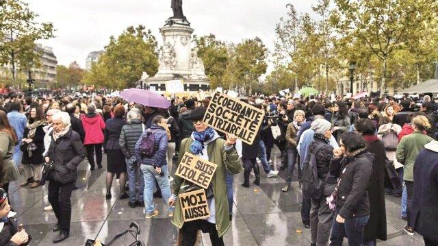Fransa'da korkunç bilanço: 8 milyon kadın tecavüze uğramış