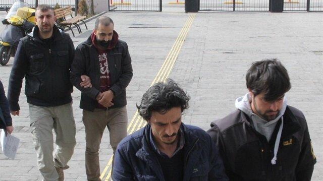 Gözaltına alınan 2 şüpheli tutuklanarak cezaevine gönderildi
