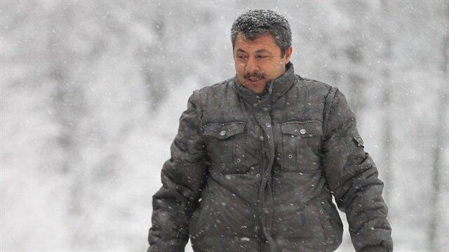 Kırklareli'nde yoğun kar yağışı etkili oluyor