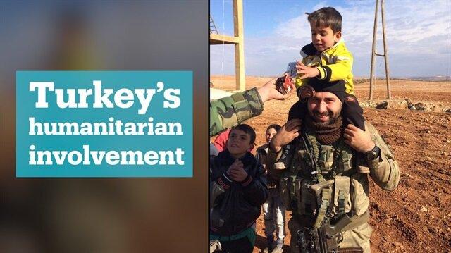 Turkey's military doctors aid civilians in Afrin's Sheik Huruz village