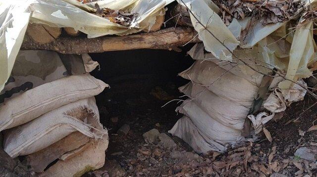 Tunceli'deki terör operasyonunda yaşam malzemeleri ele geçirildi