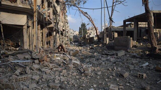 BM: Doğu Guta'ya 5 saatte yardım konvoyu göndermek mümkün değil