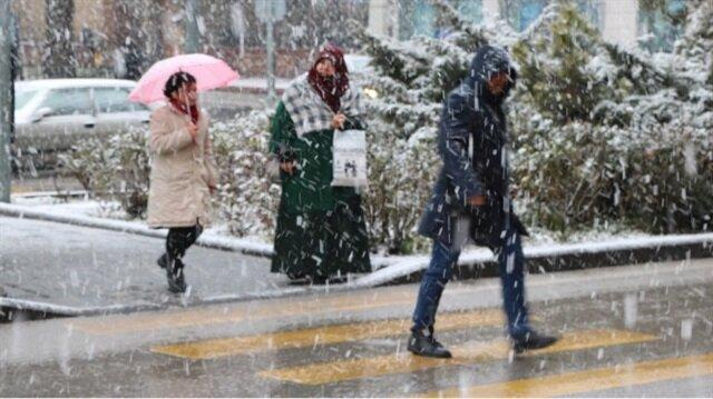 Marmara'da 6 ile kar uyarısı