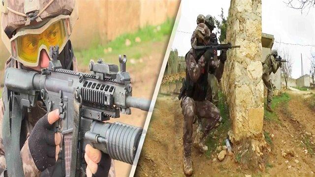 Teröristin korkulu rüyası JÖH ve PÖH bir arada Afrin'e girdi