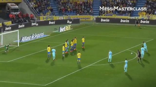 Messi'den mükemmel gol