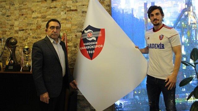Ergin Keleş devre arası transfer döneminde Karabükspor'a imza atmıştı.