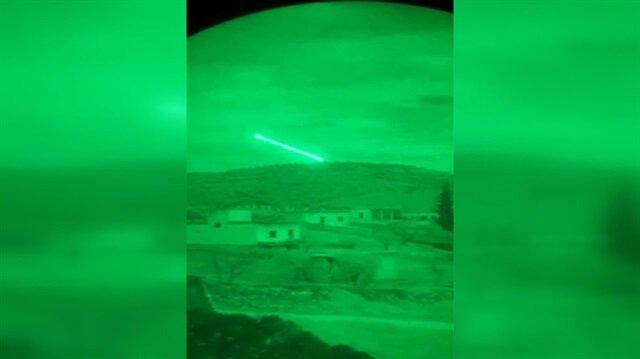 ATAK helikopteri 9 teröristi böyle etkisiz hale getirdi