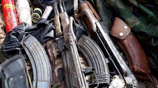 Tunceli'de terör operasyonunda çok sayıda mühimmat ele geçirildi