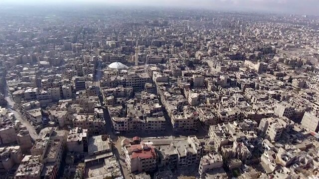 Syria's besieged Eastern Ghouta suburb