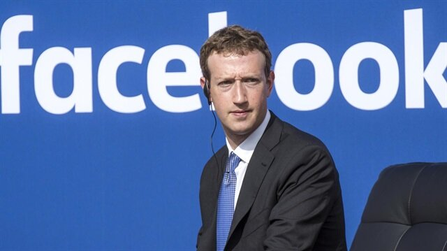 Facebook'un kurucusu ve CEO'su Mark Zuckerberg.