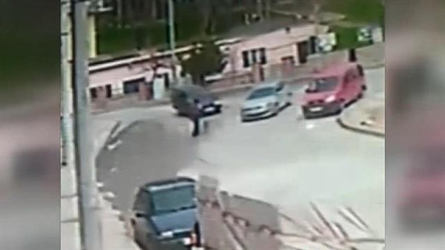 Uşak'ta otomobilin çarptığı yaya öldü