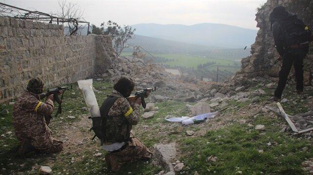 Fierce clashes in Syria's Rajo as Turkish troops, FSA thwart terrorists