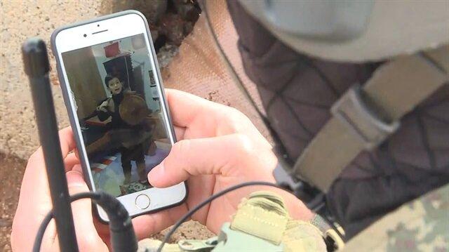 Minik Mehmet'ten Mehmetçik'i duygulandıran video