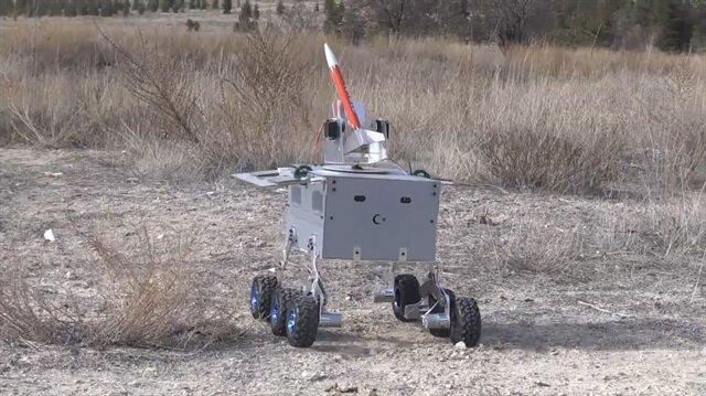 Üniversitelilerden Hava Savunma Robotu