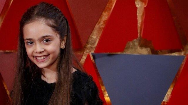 Suriyeli kız Bana da Oscar'da sahneye çıktı