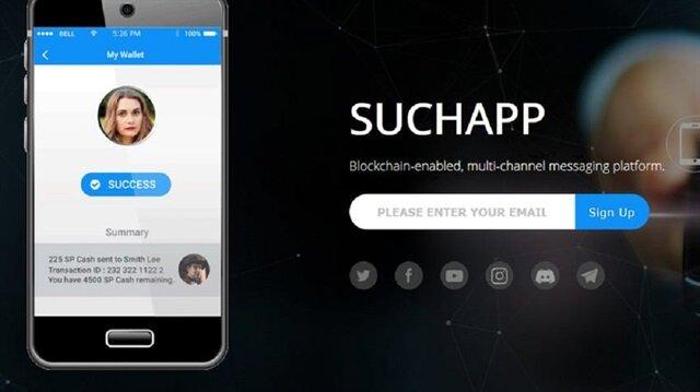 SuchApp, blokzincir etkileşimiyle yeni bir deneyim sunmayı hedefliyor.